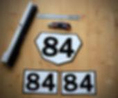 fabriquer numéros de course