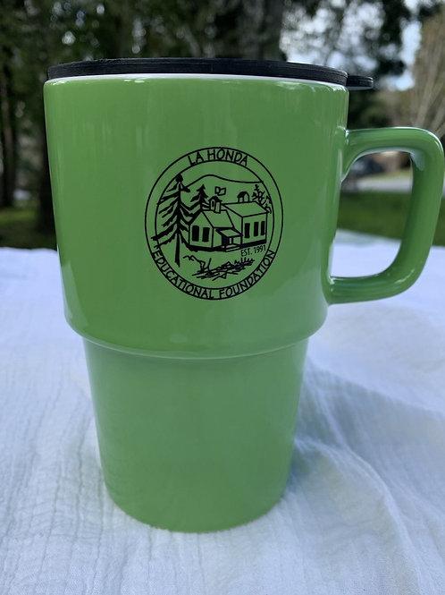 LHEF Ceramic Travel Mug