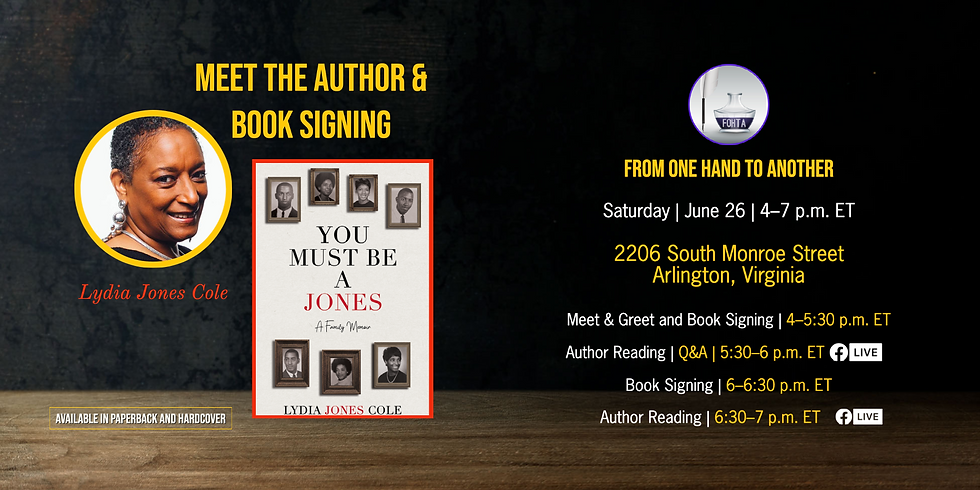 Meet the Author and Book Signing