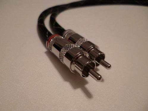 Nickel/Canare L-4E6S RCA Interconnects