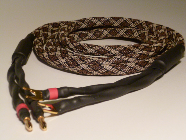 4x12 Gauge Braided Speaker Cables
