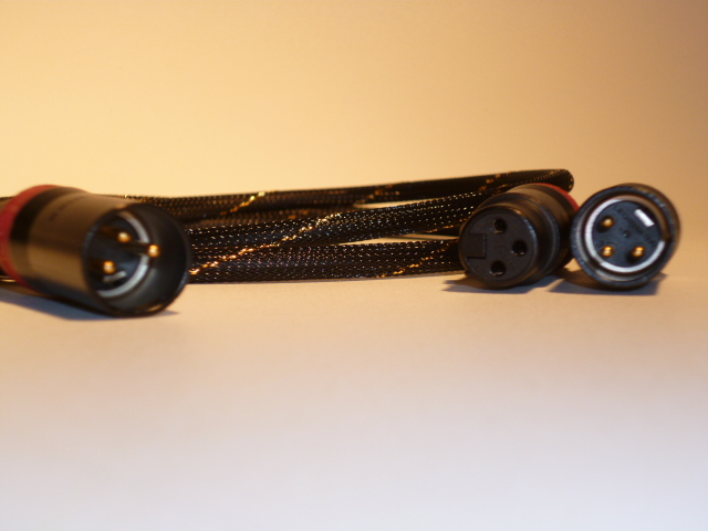 Black/Gold Balanced XLR