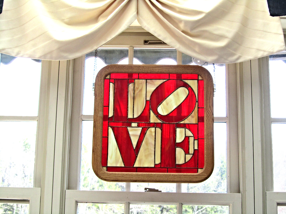"""Love"" sign Beauport Inn Bed and Breakfast, Ogunquit Maine"