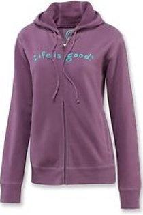 Life Is Good® Zippity Hooded Sweatshirt