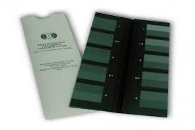 Bộ thước xám theo tiêu chuẩn AATCC (color staining)