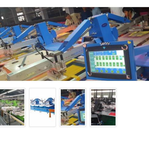 Máy in oval ESSY-A116, 16 màu, 52 bàn , khung in 500x700mm
