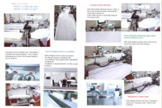 Máy thùa khuy hoàn toàn tự động với hệ thống tiếp và trả sản phẩm YUHO