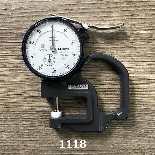Thước đo độ đày băng dán- Mitutyyo 7301