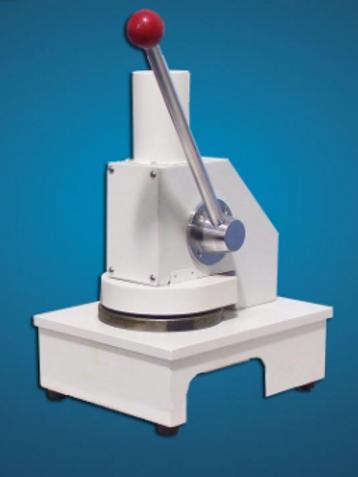 Máy cắt mẫu vải tròn, có cán dài dập bằng tay (100cm2) (phòng mẫu)