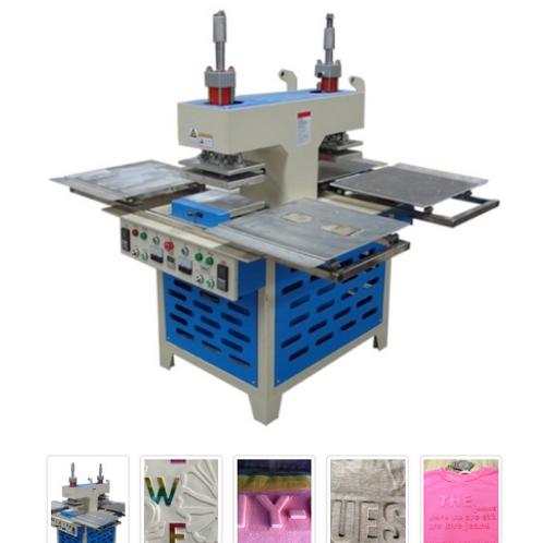 Máy ép nổi trên vải ESSY ESD-J6 vùng làm việc 300x400mm