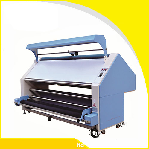 Máy kiểm vải, kiêm xử lý vải  1 buồng hơi đằng sau Kiểm cuộn sang xả