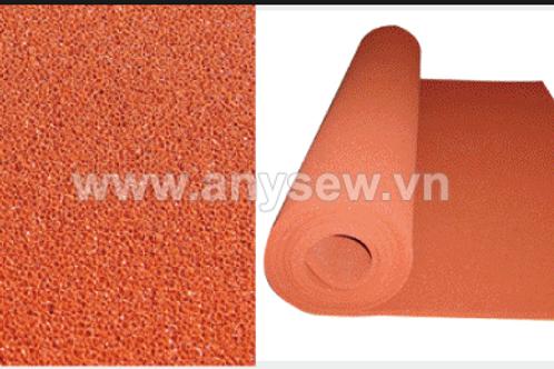 Tấm silicon màu đỏ, dùng cho máy cộp nhiệt, chịu nhiệt, dày 5mm