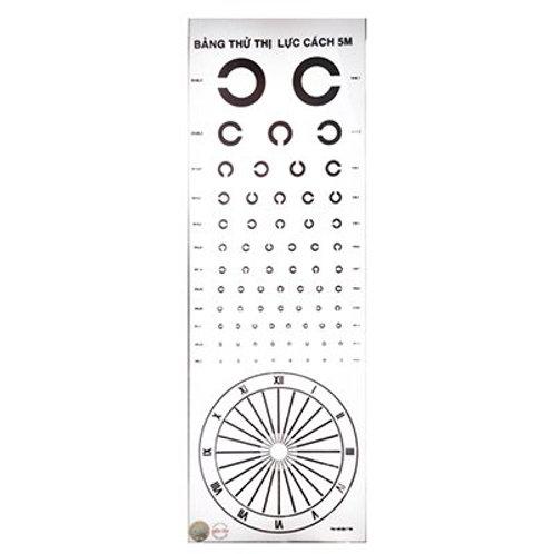 Thước đo điềm mù của mắt
