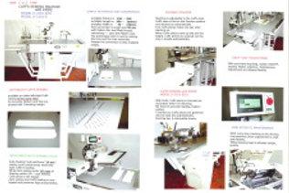 Máy may thép tay tự động có dao xén YUKO Model U-3101-E/01 (Nhật bản)
