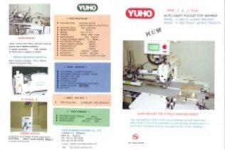 Máy may gấp miệng túi tự động YUHO U-3007-E/AUT ( Nhật bản)