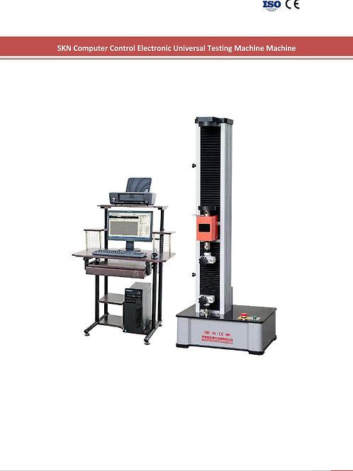 Máy thử lực căng của vải, đường may 5N WDW-1 ( đồng bộ máy thử, máy tính, máy in