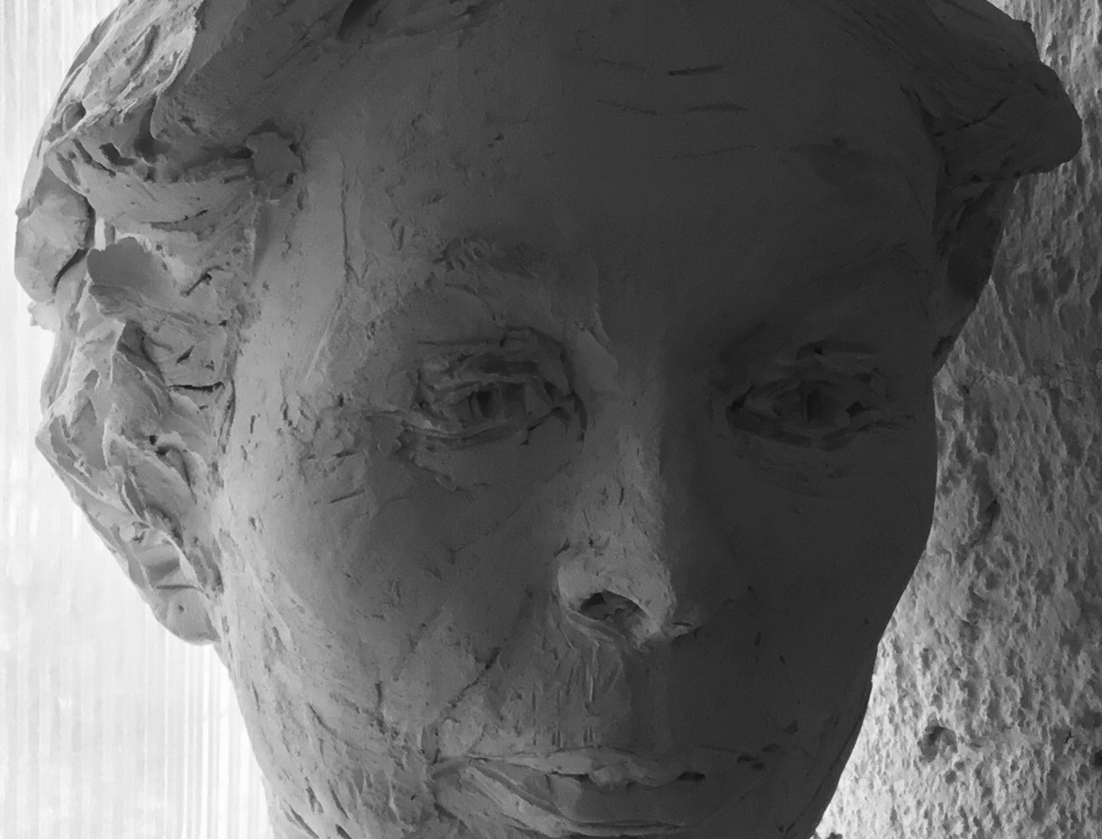 Portrait RICHARDA, Keramik