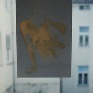 mit Leinöl transparent gemacht