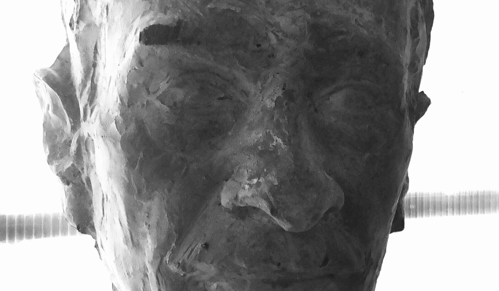 Portrait LUIS, Betonguss