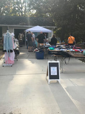 2020 Fall Charity Yard Sale for WSW