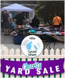 WSW - Charity Yard Sale