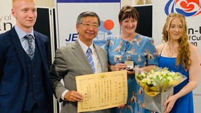 Commendation from the Japanese Ambassador to the UK