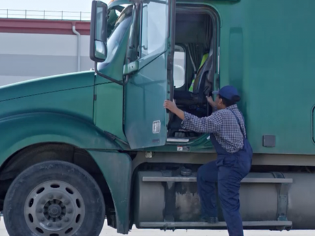 A força das mulheres no transporte rodoviário de carga