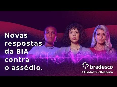 Bia, do Bradesco, se junta a assistentes virtuais que não se calam ante o machismo