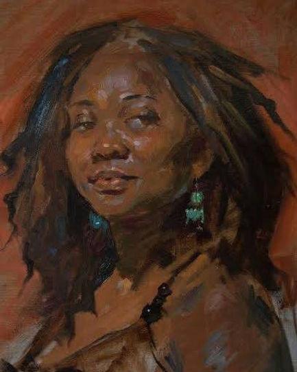 Famed artist Robert Liberace Portrait of