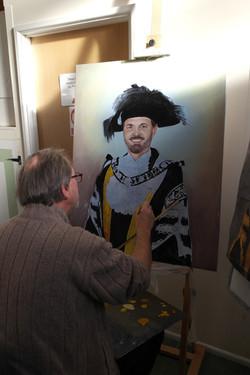 John and portrait