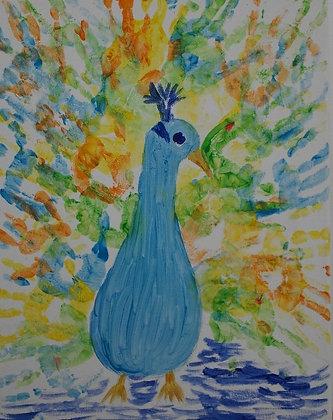 Peacock by Miss Julie Agayev