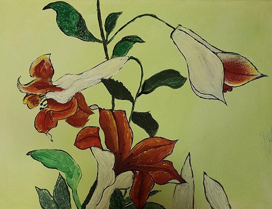 Autumn Flowers by Saima Jabeen