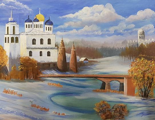 Russian Castle by Kanji Daudia