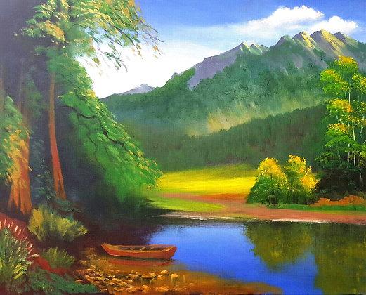 Forest Skyline by Olabayo Ishola