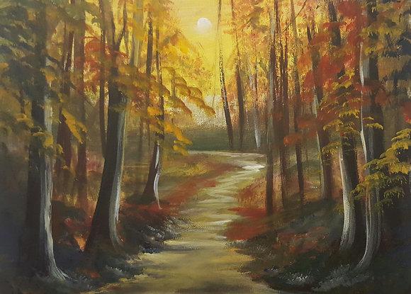October by Pat Medcalf
