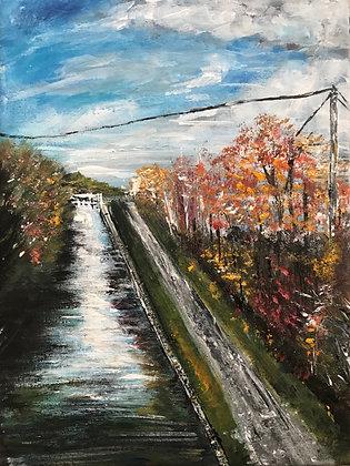 A Crisp Autumn Day by Sharin