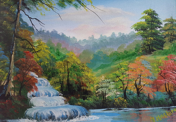 Waterfall by Margaret Masters