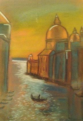 City on water by Anjumannisha Memon