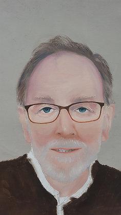 Self portrait by John Bogumsky Medium