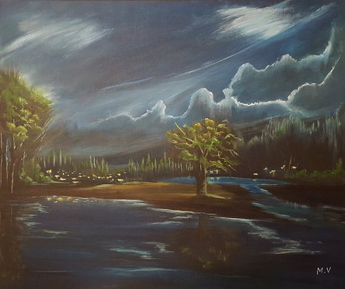 River Flow by Mita Visrolia