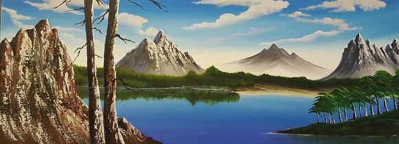 Mountain Lake by Olabayo Ishola