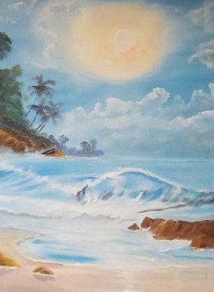 Hawaii Beach by Mike Patel