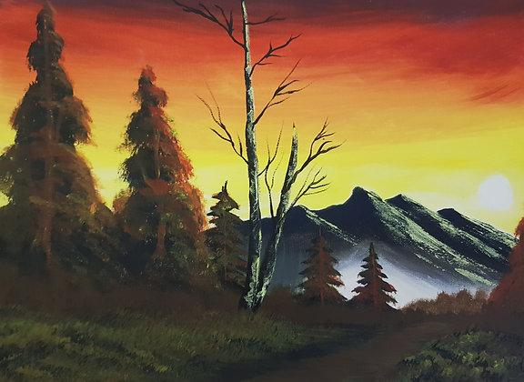 Sunset by Olabayo