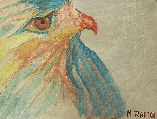 The Eagle by Muhammad Rqfique