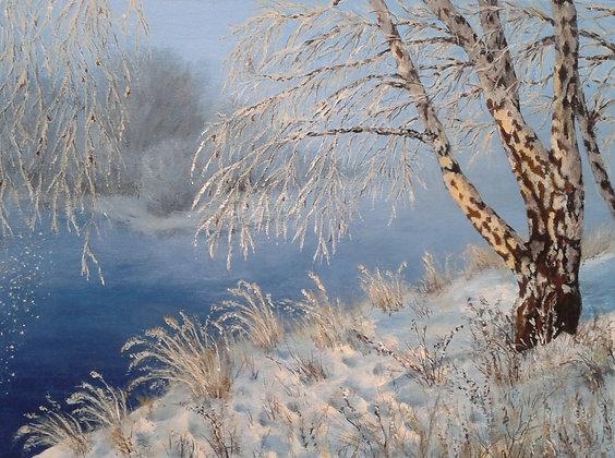 The Face of Winter by Ewa Kaszubska