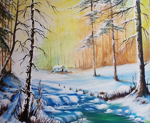 Cold River by Mita Visrolia