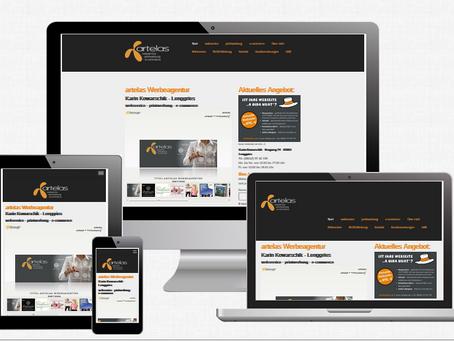 "Responsive Webdesign - ""mobilfreundlich"""