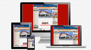 Beispiel einer Webseite, die NICHT responsive ist