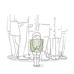 """Édition : Illustration du livre """"Charles au pays des neurotypiques""""traitant de l'autisme."""
