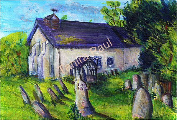 Tahira Paul Limited Edition Myndtown Church Art Print